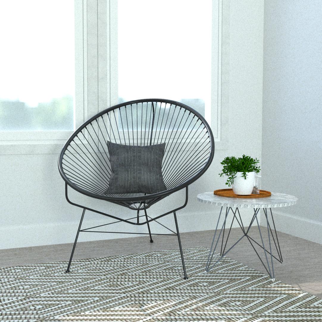 アカプルコチェアのある部屋 | 椅子を飾る